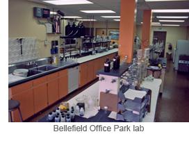 Bellefield Office Park lab