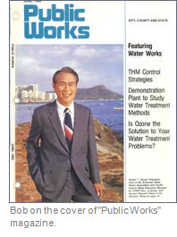 Bob on the cover of Pulic Works